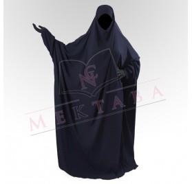 Jilbab saoudien bleu marine