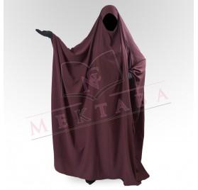 Jilbab saoudien prune