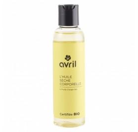 HUILE SÈCHE CORPORELLE a l'huile d'argan bio - 150 ml - certifiée bio AVRIL