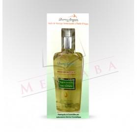 Huile de massage à base d'huile d'argan Dermargan