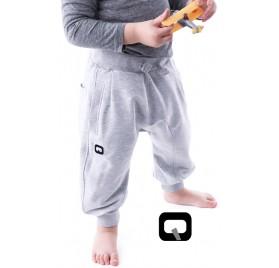 Sarouel jogging gris enfant Qaba'il