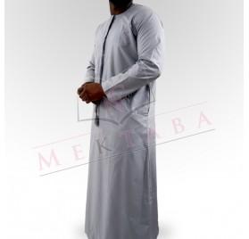 Qamis emirati gris
