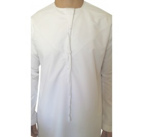 Qamis emirati blanc