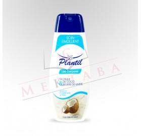 Lait corporel à l'huile de coco & beurre de karité PLANTIL