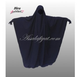 Jilbab/Jilbeb Saoudien Bleu Marine Assalafiyat