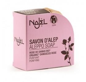 SAVON D'ALEP - parfum ROSE DE DAMAS - 100g