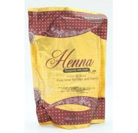 Henné en poudre acajou parfumé au oud - Hemani