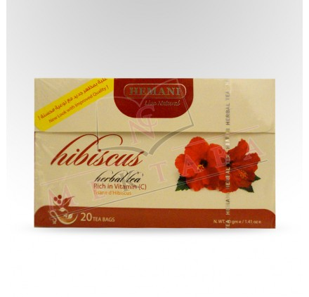 infusion a l'hibiscus