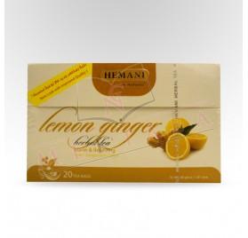 Infusion au gingembre et au citron HEMANI