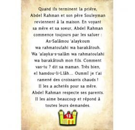 HISTOIRE DU SOIR: LE BON COMPORTEMENT
