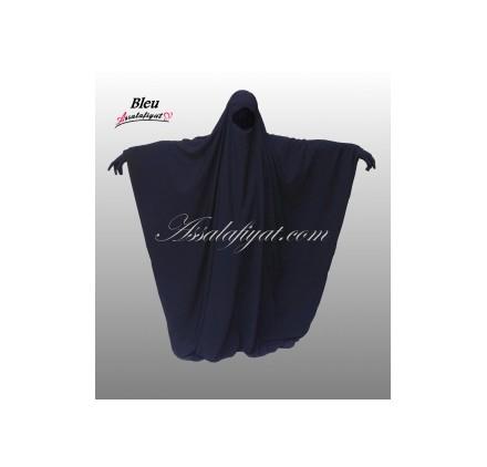 Jilbab/Jilbeb Saoudien  Bleu Assalafiyat