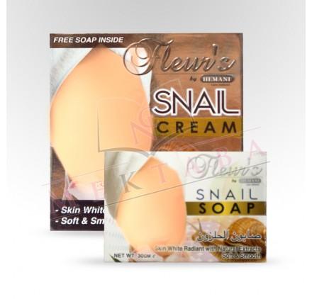 Crème à la bave d'escargot HEMANI